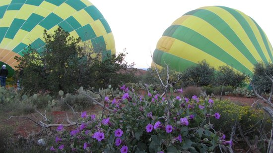 Northern Light Balloon Expeditions: Getting started at sunrise!