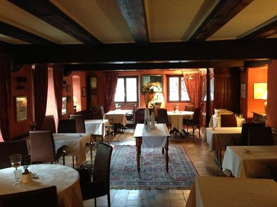 Auberge St Laurent: restaurant