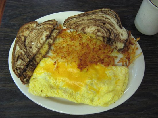 Town Cafe & Gift Shop: Ham and Cheese Omelet
