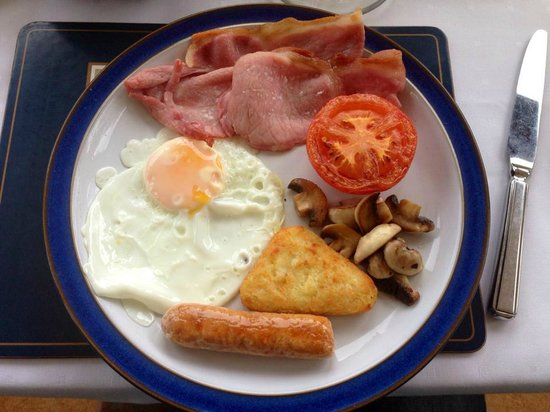 The Gables Bed & Breakfast: A Scottish cooked breakfast. Yum!