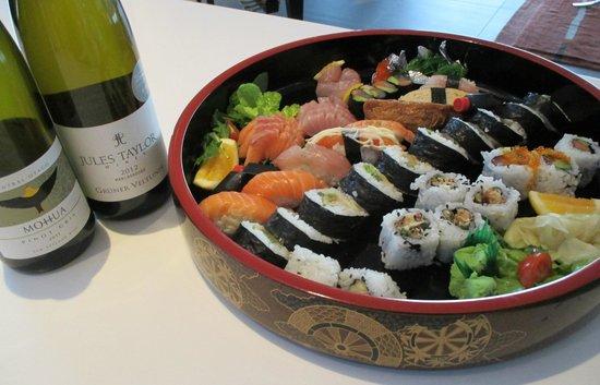 Masa's Restaurant & Sake Bar: yummy takeaway platter