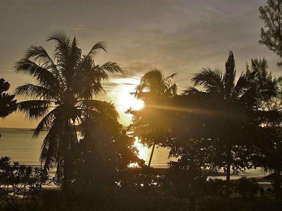 Angsana Bintan: Sunrise view from the balcony of 2nd floor