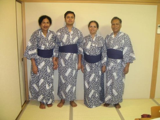 Kurama Onsen: Ready for our bath in the Onsen