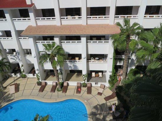 Bahia Hotel & Beach House: View from Balcony