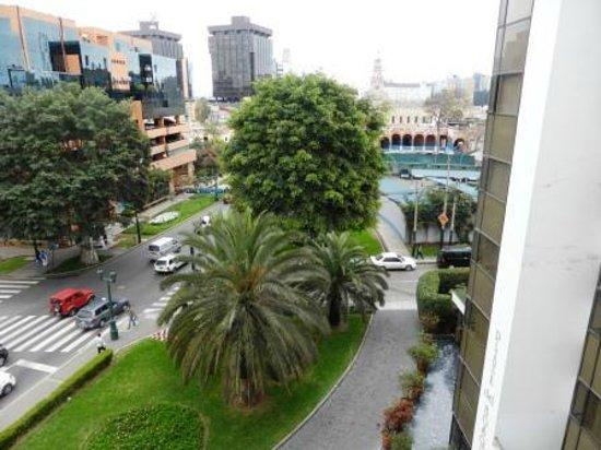 Plaza del Bosque Hotel: View from room