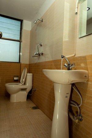 Kathmandu Homestay: Bathroom