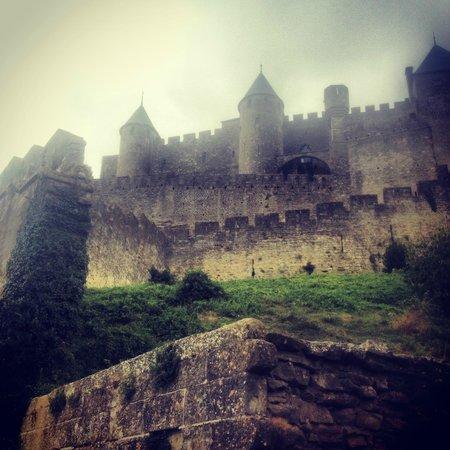 La Maison sur la Colline: Замок Каркассона
