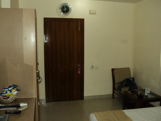 Hotel Atithi : Entrance Door to the room.