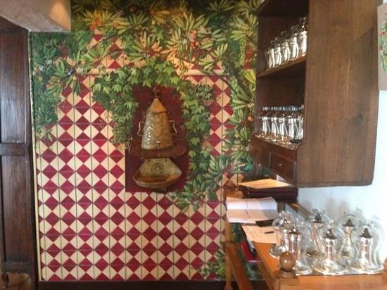 Hotel Le Maquis : restaurant area