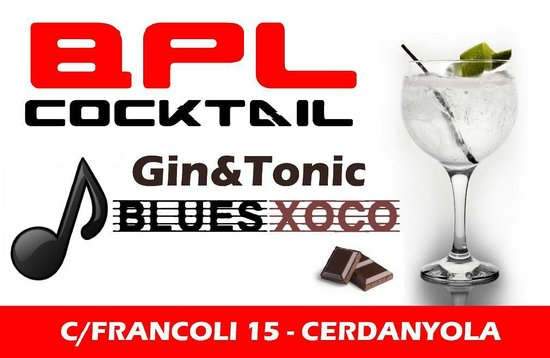 Bpl Cocktail: GIN TONIC DEL 25TH FESTIVAL INTERNACIONAL BLUES CERDANYOLA