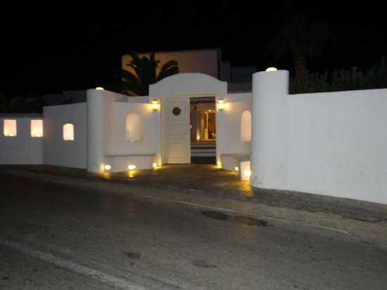 Palladium Boutique Hotel: very secure and well lit