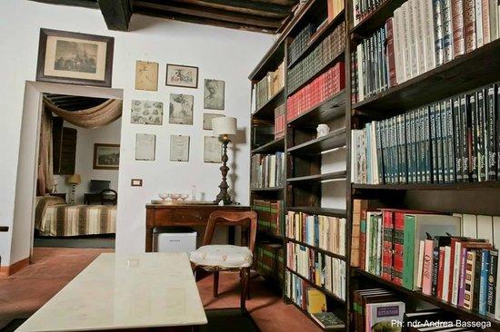 Antiche Dimore Vescovado: Suite Rasenna/ Living