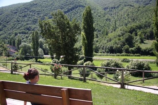 Agriturismo La Valle del Sambuco : un paesaggio rilassante
