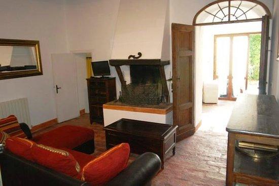 B&B Countryhouse Suites & Apt. Vescovado: Suite Caminetto