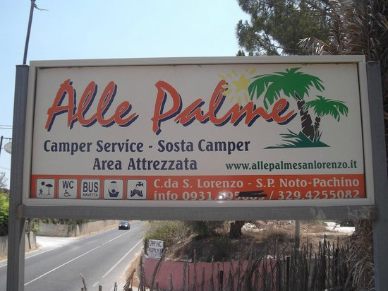 Camping alle Palme