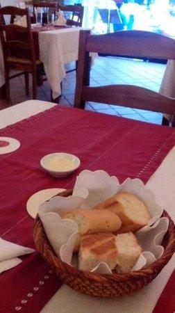 Carpaccio: delicious bread