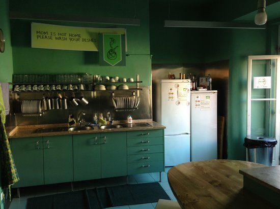 Goodmorning Hostel: Kitchen