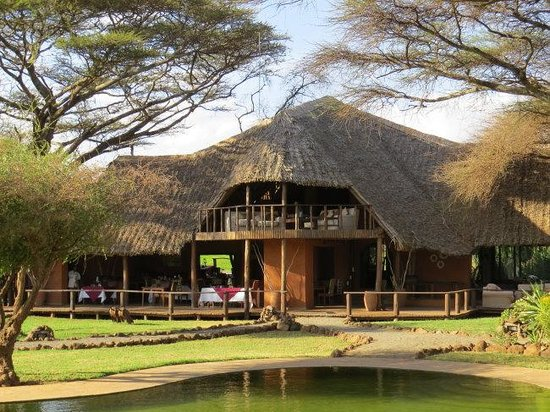 Tawi Lodge: Restaurant