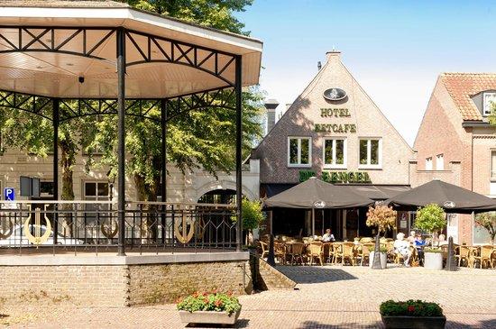 De Bengel Hotel Restaurant: Hotel De Bengel aan de historische markt van Eersel