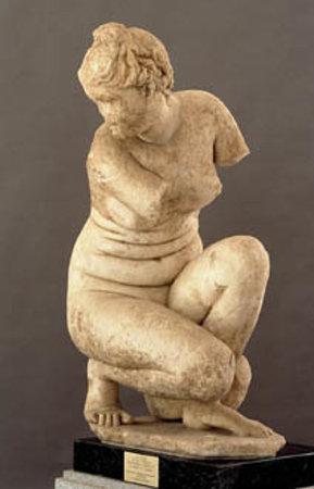 Museo Arqueológico de Córdoba: Afrodita agachada.