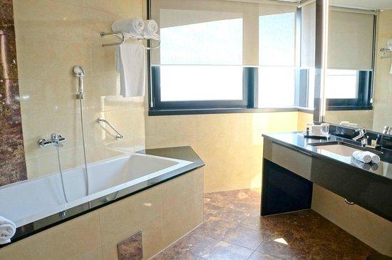 Hotel Bristol Sarajevo: Spacious bathroom