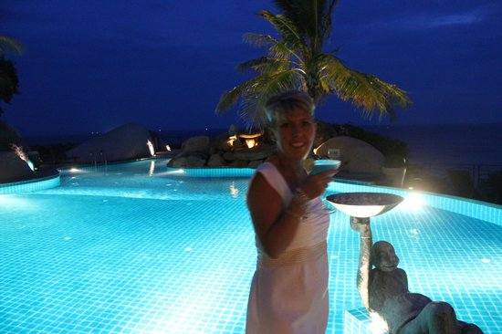 Jamahkiri Resort & Spa : poolside