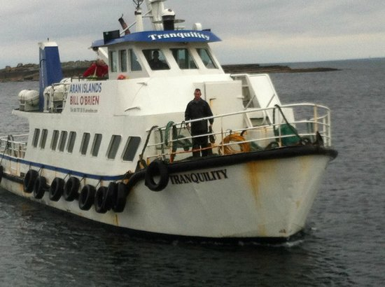 O'Brien Line Ferries: the tranquility boat-ferry
