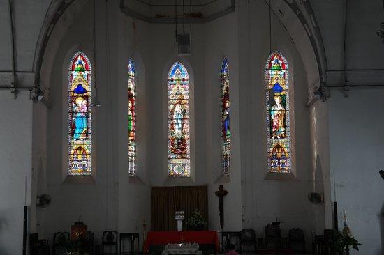 Church of Saints Peter and Paul: Glass Windows