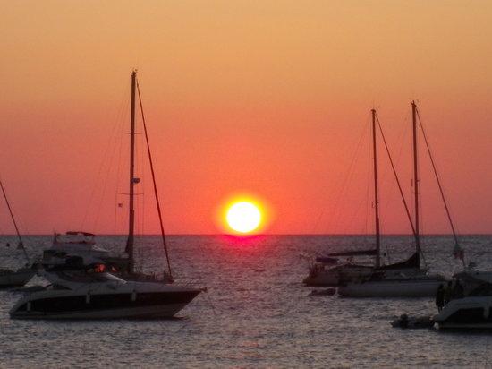 Best Western Santa Maria : Tramonto a .... Ile Rousse