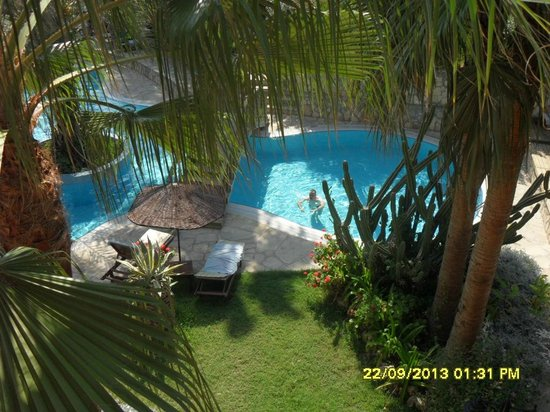 Hotel Club Tropical Beach: Widok z okna