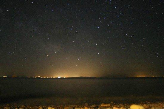 Assos Gargara Dogal Tatil Kampi: Gece yildizlar
