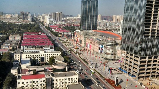 Zhong Yin Hotel: View north from Zhongyin Hotel room