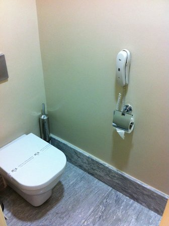 The Peak Hotel : Toilet