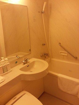 Kansai Airport Washington Hotel : Toilet