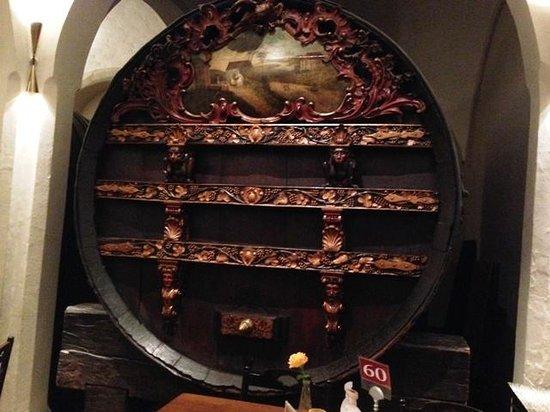 Bremer Ratskeller: huge wine barrels