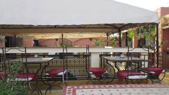 Riad Lena & SPA: Terrace