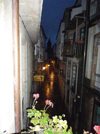 Hotel Montenegro Compostela: vistas desde el balcon