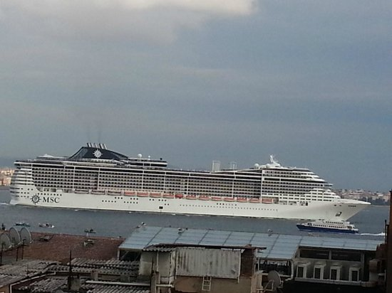 Historia Hotel: Bosphorus view from my room balcony 3
