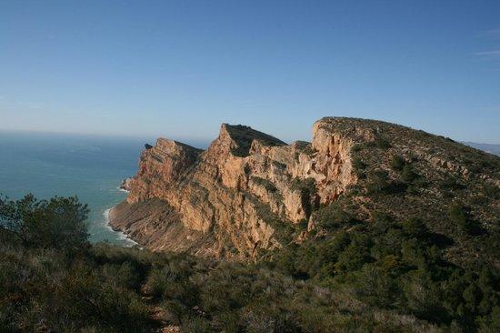 El Albir, Spain: Fra turen over Sierra Helada mot syd