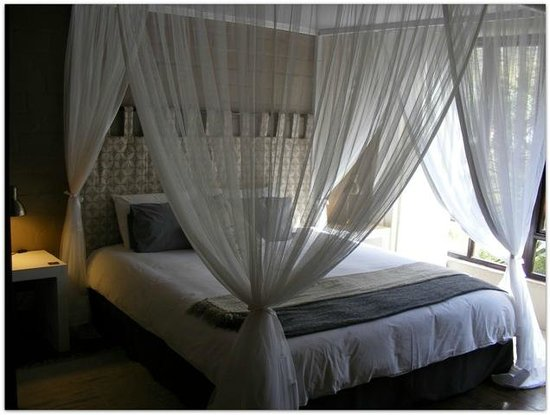 Hornbill House Self Catering Accommodation: Unit 4 Master bedroom