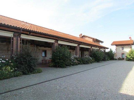 Agriturismo Tetto Garrone : The courtyard