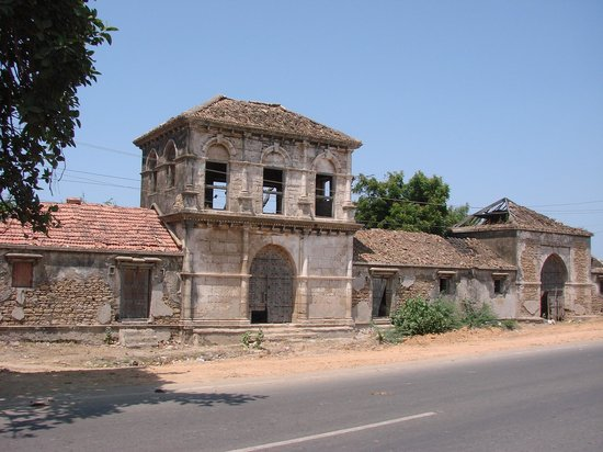 Jamnagar, India: the old house