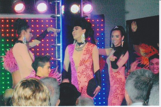 The Venue Cabaret: part of the show