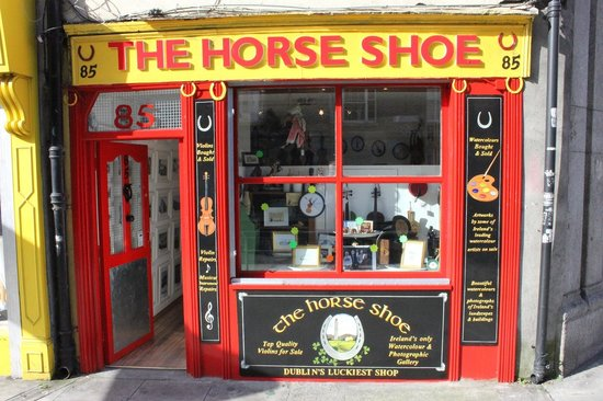 The Horse Shoe Gallery: The Horse Shoe shop