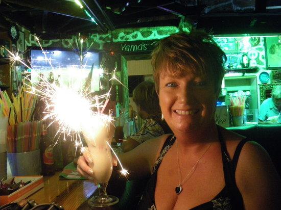 Great nights in Yamas Bar - Lardos