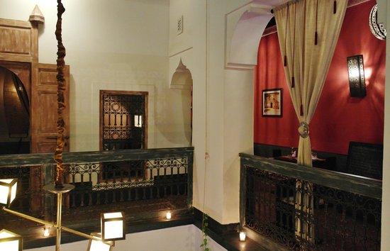 Le Comptoir du Pacha : 2 salles à l'étage du restaurant