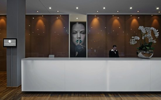Legere Hotel Luxembourg: reception