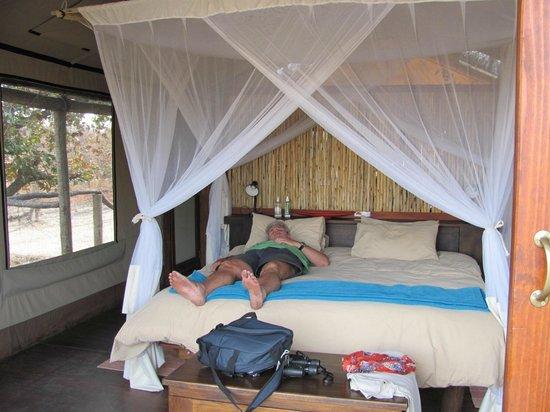 Kapula Private Camp : Inside Tent 2 Kapula North Camp