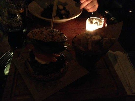 Jamie's Italian: burger and funky fries