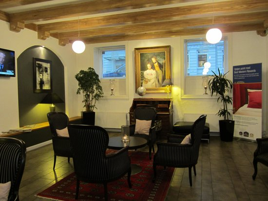 Best Western Hotel Hebron : lobby area